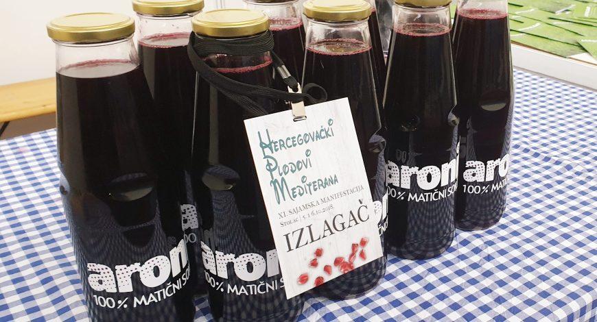 Sajam Hercegovački plodovi Mediterana sok od aronije 6